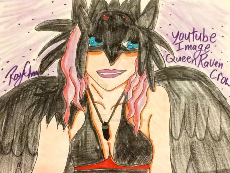 My YouTube image QueenRavenCrow1 by RaydaraArtIsABang