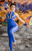 Chun Li Street Fighter Alpha II by harleykmc