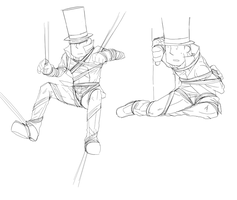 Tied Layton by Hennei