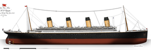 RMS Olympic: Profile (1913) by alotef