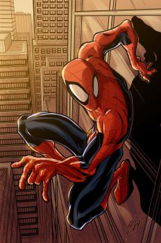 spiderman_color by tedkeys