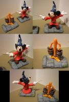 Mickey Mouse Fantasia Figurine by Jelle-C