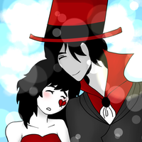 Crack Couple 1 / Magic Hat by Ask-TheConductor