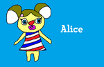 Alice from Animal Crossing by MikeEddyAdmirer89