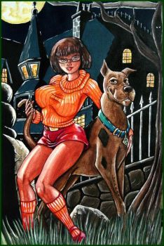 Velma and Scooby by Granamir by Granamir