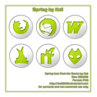 Spring Icon Pack by kali2005