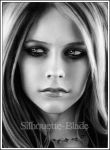 Avril Lavigne by Silhouette-Blade