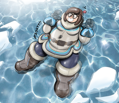 Stay Cool - Mei Pooltoy Transformation by Redflare500