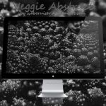 Veggie Abstract BnW by webcruiser