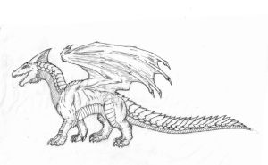 White Dragon - D4e by hypergojira