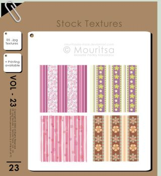 Texture Pack - Vol 23 by MouritsaDA-Stock