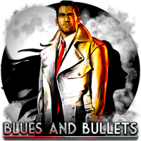 Blues And Bullets by POOTERMAN