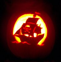 My Pirate Ship Pumpkin by Misaki-chi