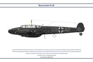 Bf 110 C NJG1 2 by WS-Clave