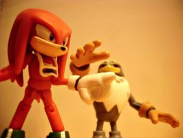 Sonic Free Riders - Knuckles VS Storm by FireNintendoReviews1