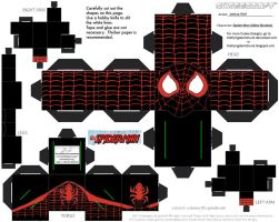 Marvel12: Miles Morales Cubee by TheFlyingDachshund