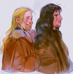 Fili and Kili by Barukurii