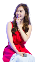 Snsd Jessica render png by poubery