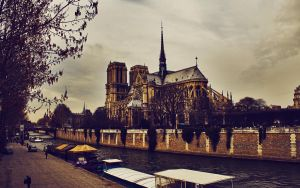 Notre Dam in March by FletchLives