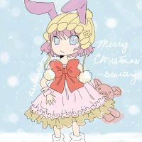 CHRISTMAS GREETINGS FROM BLUETORY gaia avi by winterEve24