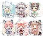 [OPEN -- ON HOLD] Set Price:: -- Lacepack by seiun-kun