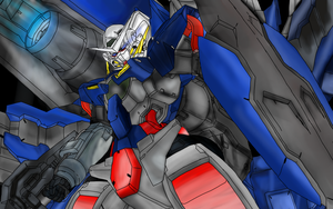 EXIA Finished by MikoKawaii