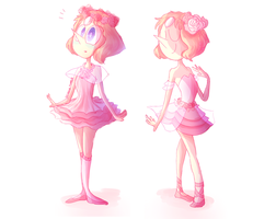 Rose inspired dresses..? by bluukie