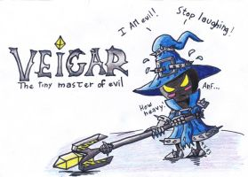 Veigar - League of Legends by MissVulture93