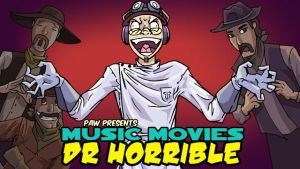 Music Movies Title Card- Dr. Horrible by Namingway