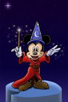 Mickey Mouse B-Day Front by Peacekeeperj3low