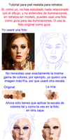 Tutorial piel realista para retratos by MarinaSchiffer
