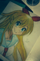 Chitoge. by CallMeEstefy