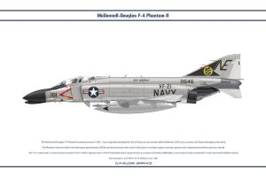F-4B USA VF-21 1 by WS-Clave