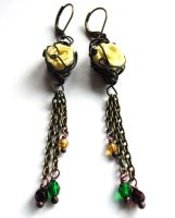 Gramercy Earrings by sojourncuriosities