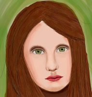Female Face (Day 164) by Hedwigs-art