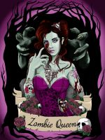 MIss Jessica, the Zombie Queen by koffinkandy