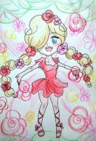 Rose Fairy Rosalina by Derochi