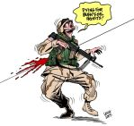 1501 US soldiers killed by Latuff2