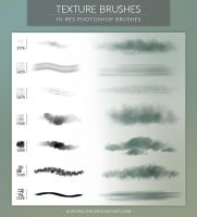 Texture Brushes by AuroraLion