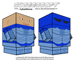 Cubeecraft - Sontarans 'Doctor Who' by CyberDrone