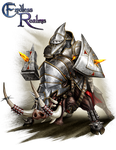 Endless Realms player class - Knight by jocarra