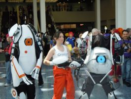 Portal 2 Cosplayers by Ichimokuren10