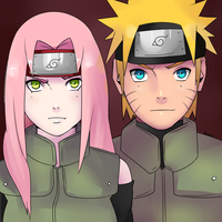 Couple of Ninjas by Kozakura-chan