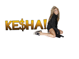 KeSha PNG by LarahLoveyou
