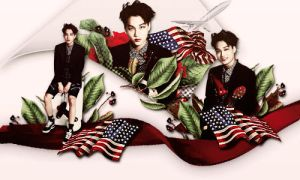 [ Colorful EXO ] The United States by Jungyedolly