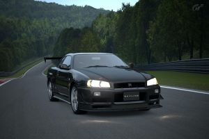 Skyline GTR r34 Time trial by NightmareRacer85