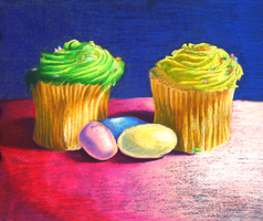 Thiebaud Take-off, Cupcakes by jewlecho