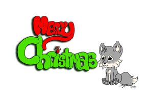 Merry Christmas by LilWolfStudios