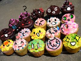 If Cupcakes Had Emotions...... by heyitsjulie
