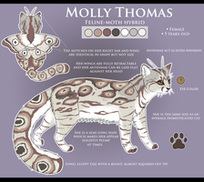 Molly Thomas Reference -NEW- by Daesiy